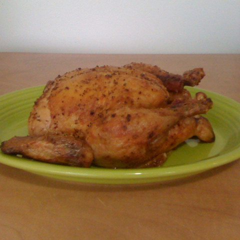 Oven Baked Whole Chicken