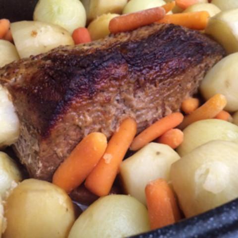 Oven Pot Roast (New England Pot Roast)