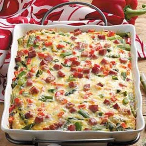 Overnight Asparagus Strata Recipe