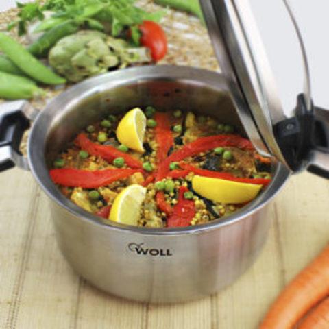 Paella de trigo sarraceno con la olla CONCEPT PRO