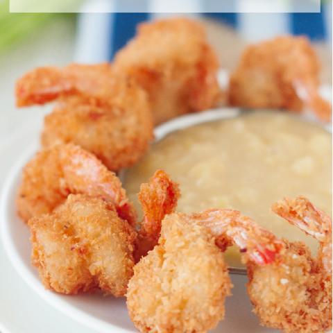 Paleo Coconut Shrimp with Pina Colada Dipping Sauce Recipe