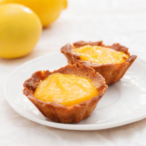 Paleo Lemon Tarts