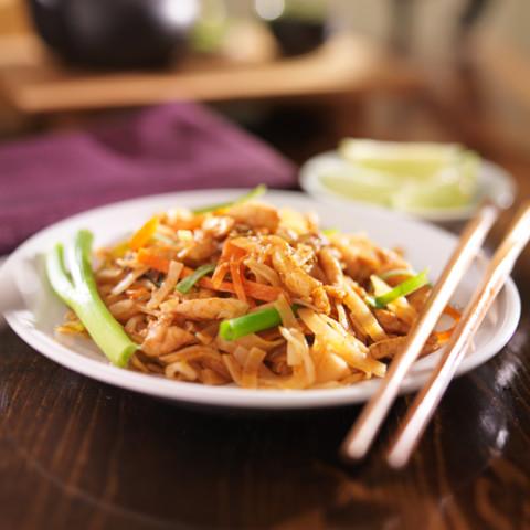 Paleo Pad Thai Chicken or Beef