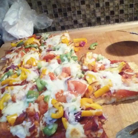 Paleo Pizza Crust #1