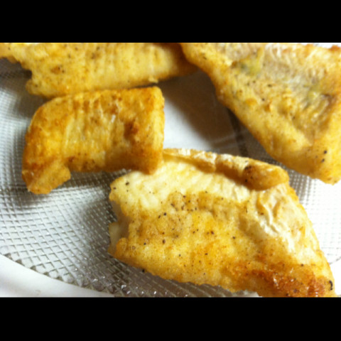Pan-Fried Lake Perch or Walleye