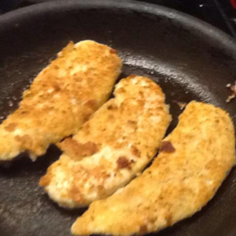 Parmesan-Walnut Turkey Tenderloins or Chicken Breasts
