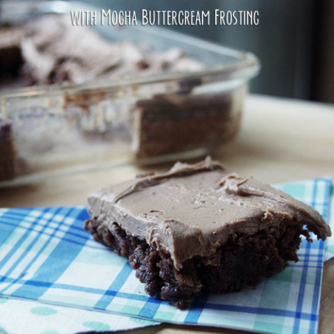 Passion for Coffee Cookbook Review: Cappuccino Brownies