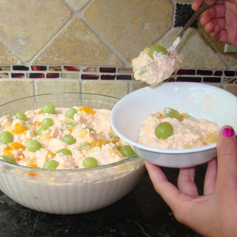 Pat's Jello Powder Fruit Salad