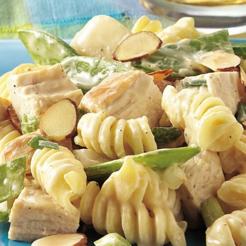 Pea Pod and Chicken Salad Oriental