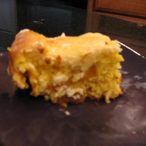 Peach Cream Cheese Cake