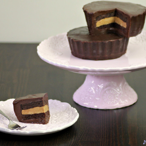 Peanut Butter Cup Cake. Make it for a Loved One. Or for Yourself, Because Y