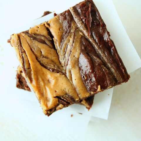 Peanut Butter and Avocado Brownies