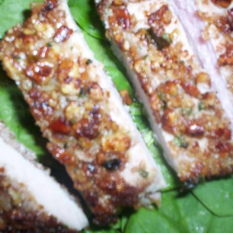 Pecan Crusted Pork