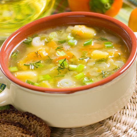 Persian Onion Soup with Orange