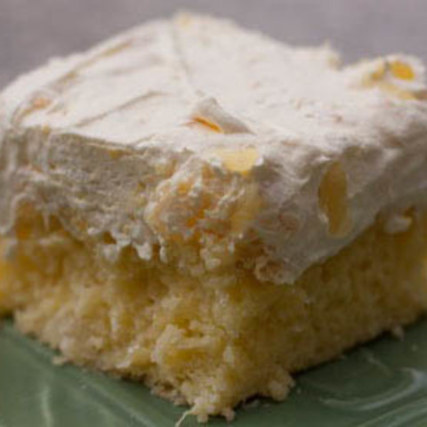Orange Pineapple Dream Cake Recipe