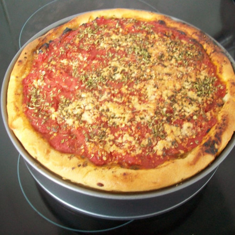 Pizza Unos Deep Pan Chicago Style Pizza