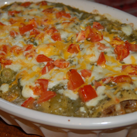 Pork And Green Chili Casserole