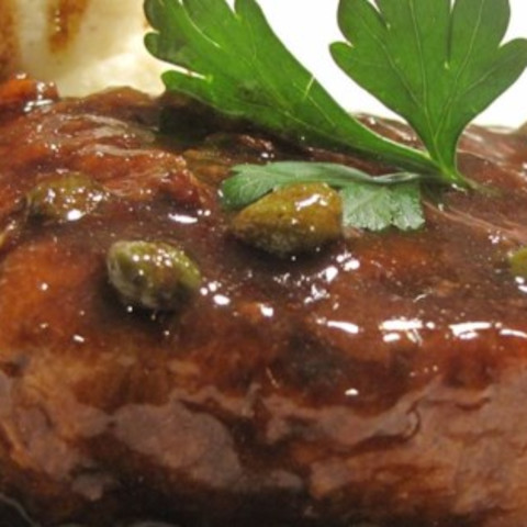 Pork Medallions with Balsamic Vinegar and Capers Recipe