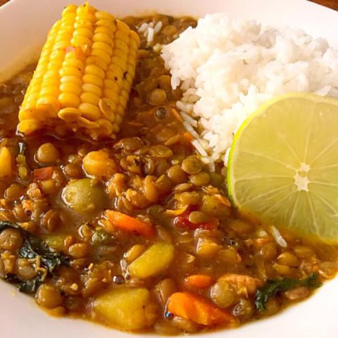 Potaje De Lentejas (Cuban Lentil Soup)