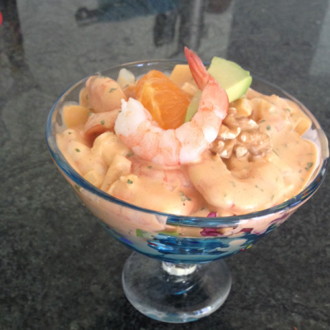 Prawn Cocktail with a hint of Cognac
