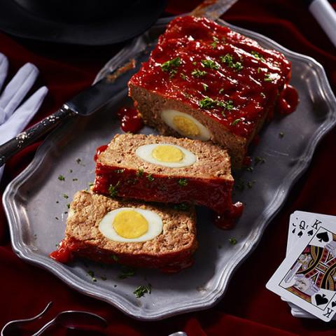 Presto's Surprising Egg Meatloaf