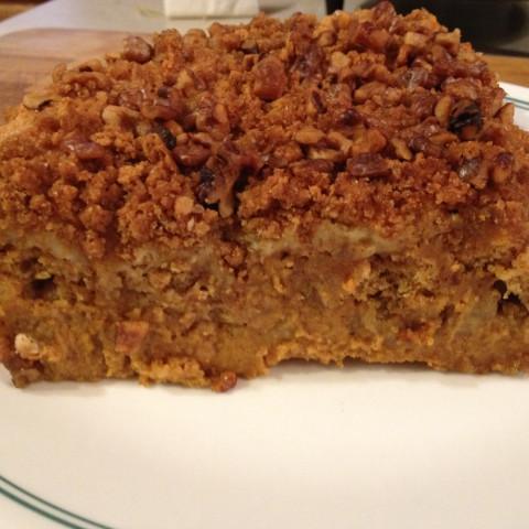 Pumpkin Cheesecake Cobbler II