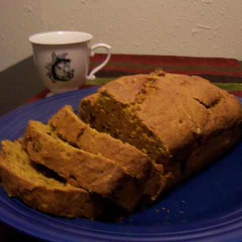 Pumpkin-Date Bread