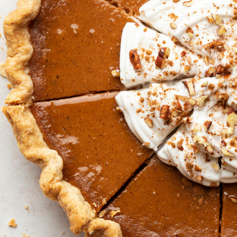 Pumpkin Pie & Crust