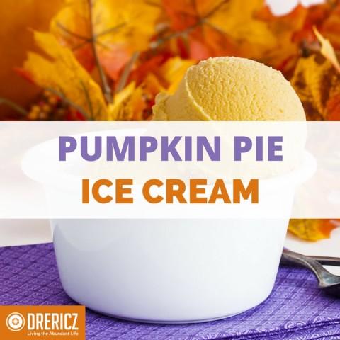 Pumpkin Pie Ice Cream