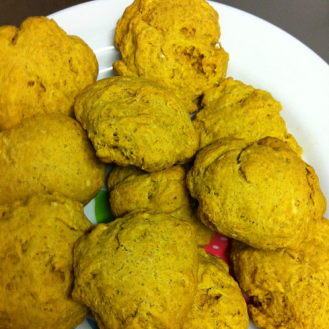 Pumpkin Spice Biscuits with Sausage