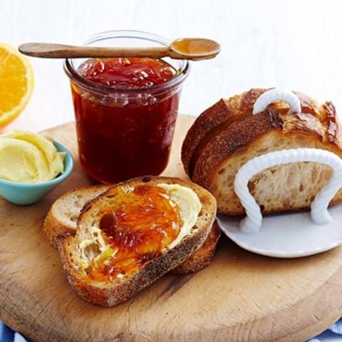 Quick and easy orange jam