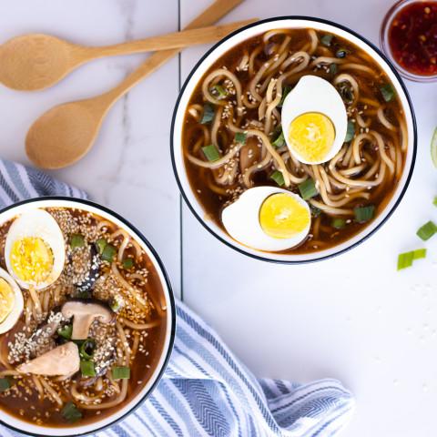 Quick & Easy Instant Pot Chicken Ramen