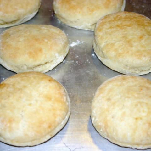 Quick Sourdough Biscuits