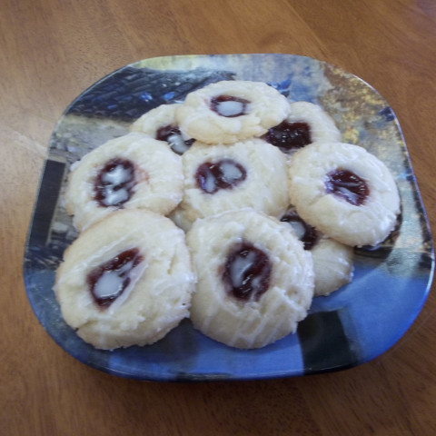 Raspberry Lemon Thumbprints