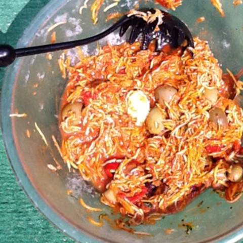 Raw Spaghetti Dynamically