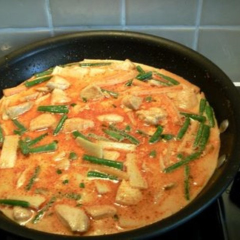 """Red Chicken Curry """"Gaeng Phed Gai"""""""