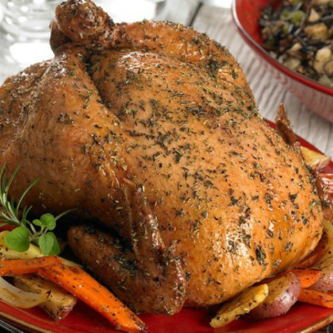 Roasted Herbes De Provence Chicken