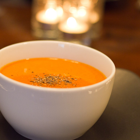 Roasted Squash and Apple Soup
