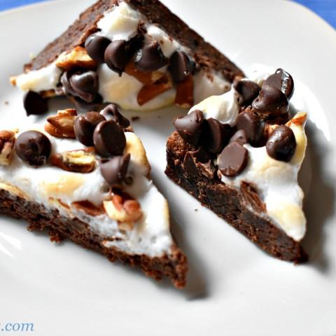 Rocky Road Gluten-Free Brownies