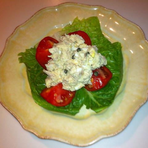 Rt 39 s tuna fish salad for Tuna fish salad calories