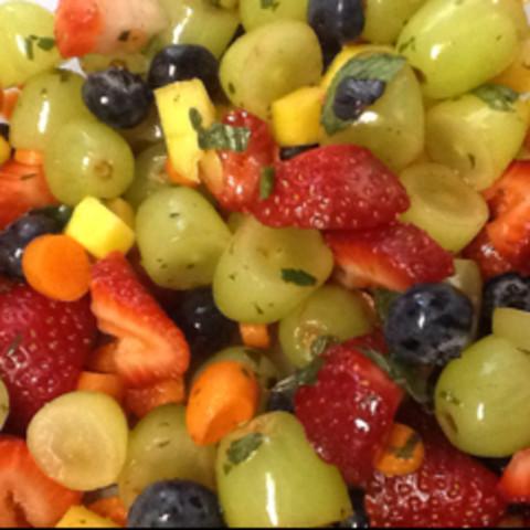 Ruthie's Mostly-Fruit Salad