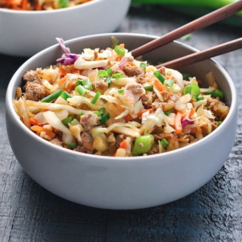 S / E / FP - Egg Roll in a Bowl - THM