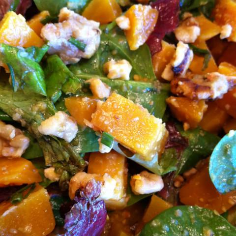 Salad: Beet & Walnut Salad