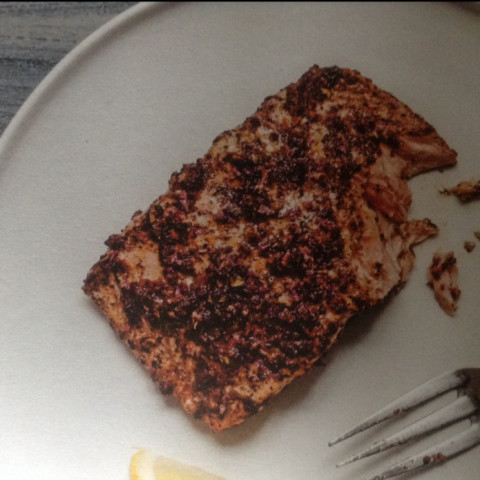 Salmon: Citrus spiced salmon