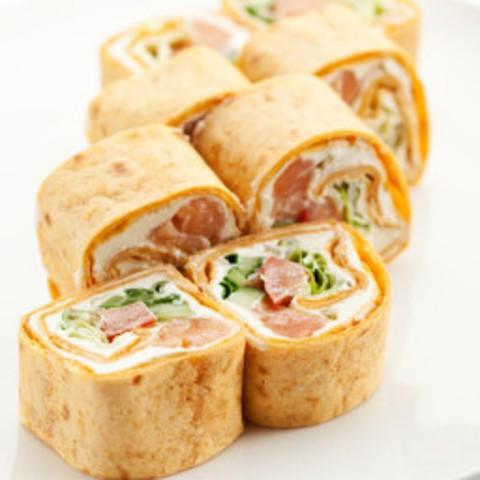 Salmon Tortilla Appetizers