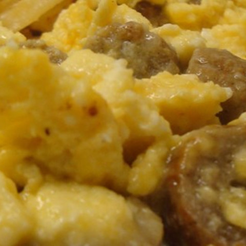 Sausage, Egg, and Cheese Scramble
