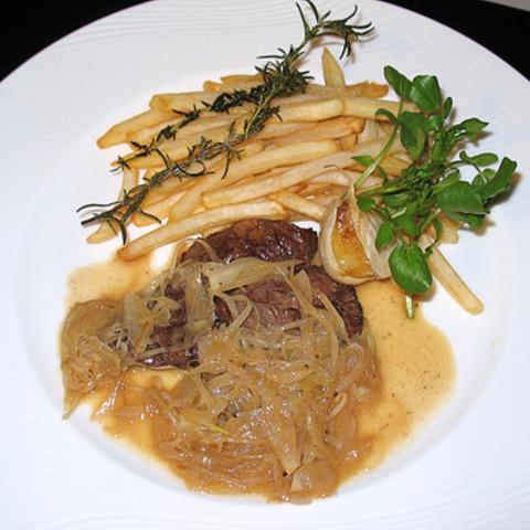 Sauted Skirt Steak