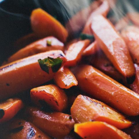 Sautéed Carrots with Lemon and Marjoram