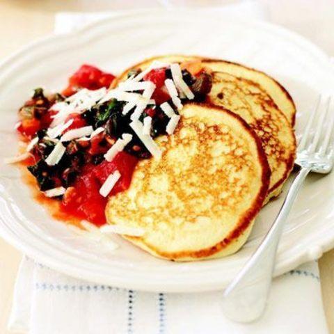 Savory Ricotta Pancakes