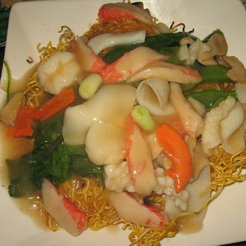 Seafood pan fried noodles forumfinder Gallery